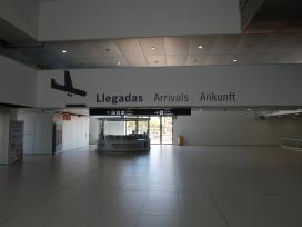 Arrivals Murcia International Airport