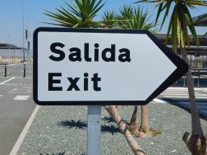 Exit the car park
