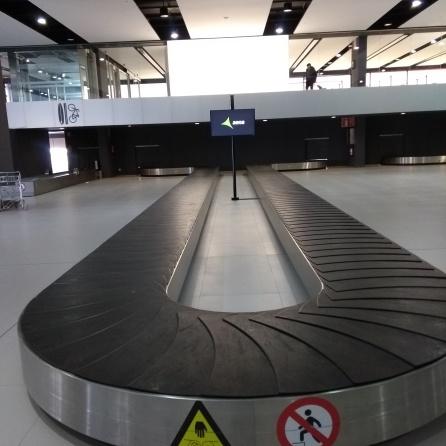 Baggage hall