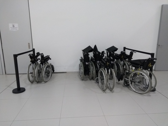 Assistance wheelchairs